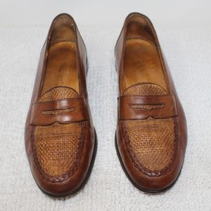 Johnston & Murphy Cellini Penny Loafer Brown 10.5